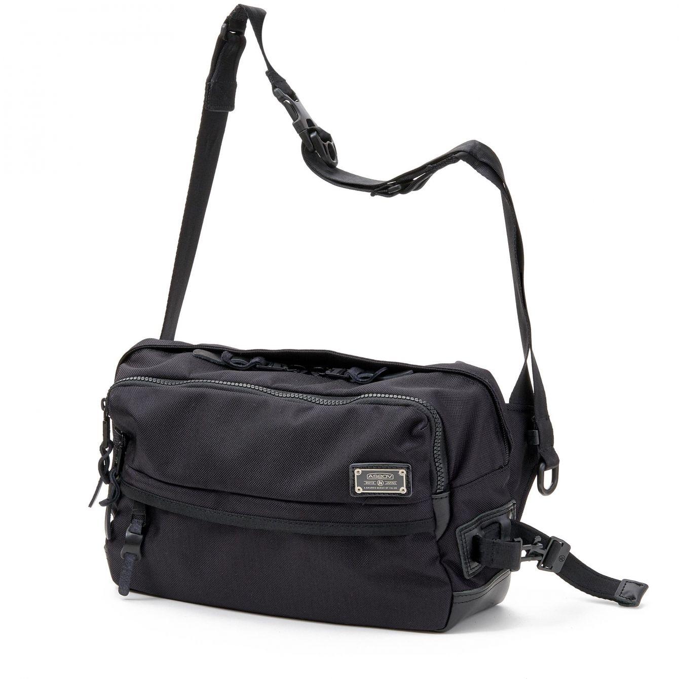 # 「AS2OV」包袋品牌獨家彈道尼龍:2WAY SHOULDER & BODY BAG 新品上市 2