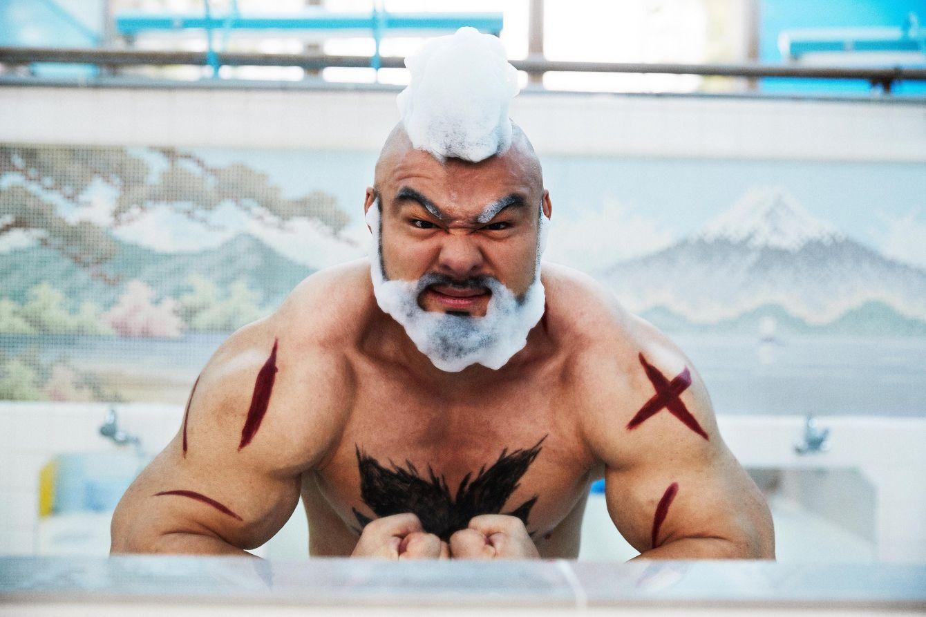 # 快打旋風的桑吉爾夫來為你介紹日本泡湯文化:來自日本 Redbull【Cosplay 妄想寫真館】企劃 6