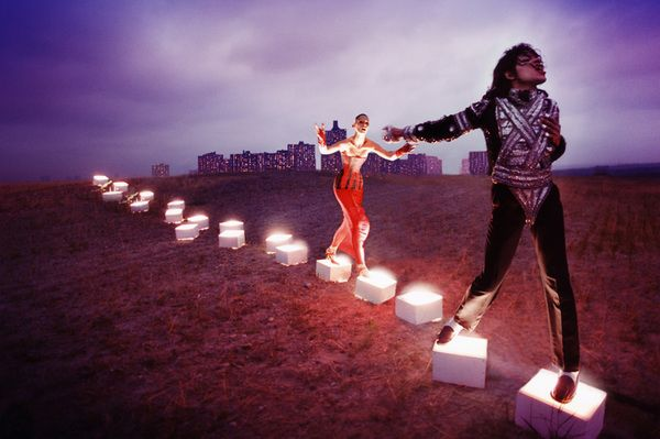 # MICHAEL JACKSON與他的藝術家們!:去倫敦必看的 ON THE WALL! 3