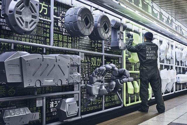 # 史上最大組裝模型計畫展開:日本壽屋玩具廠商驚人創舉 2