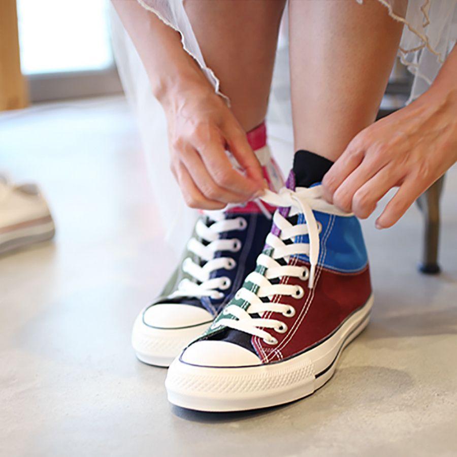 # Jam Home Made 紀念品牌二十週年:攜手 Converse Japan 推出拼色設計鞋款 6