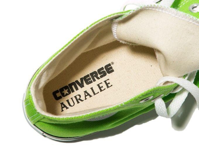 # AURALEE × Converse × Beauty&Youth:螢光色系聯名鞋款即將登場 4