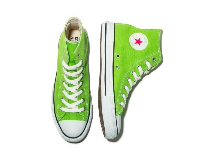 # AURALEE × Converse × Beauty&Youth:螢光色系聯名鞋款即將登場 2