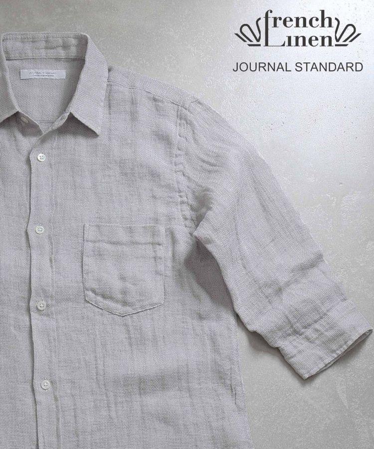 # JOURNAL STANDARD 抗暑對策:來自法國亞麻製的七分袖襯衫 14