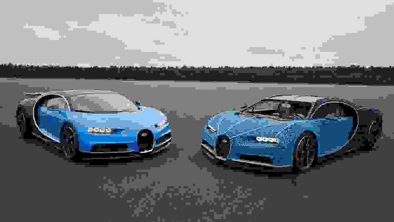 # 超過一百萬個樂高打造的跑車:一比一 Buggati Chiron 開上街! 8