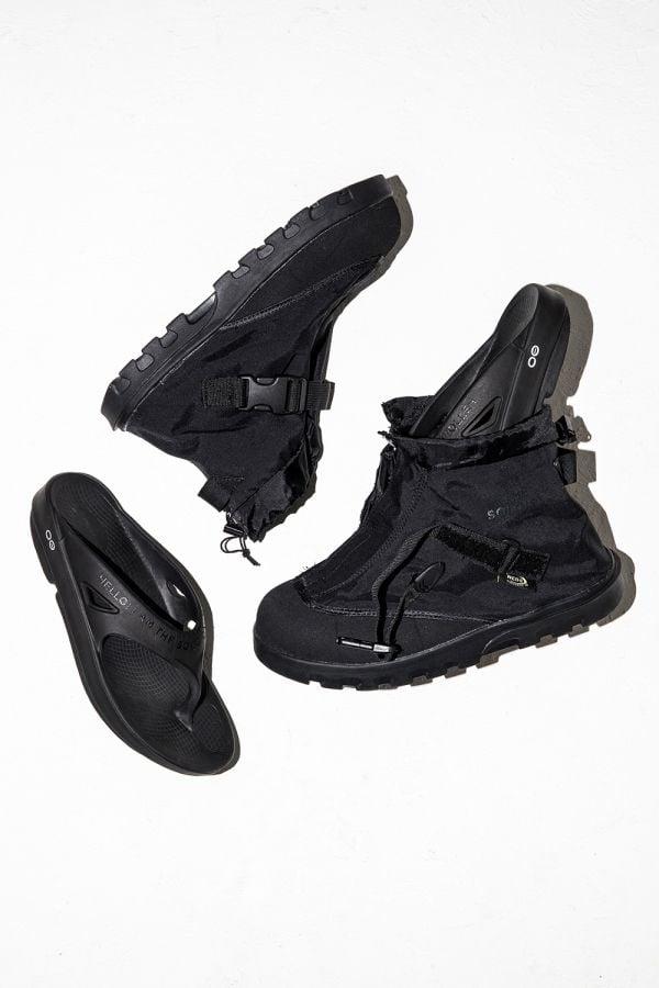 # 宮下貴裕 TheSoloist. × Oofos:涼鞋的好夥伴——機能鞋套 1