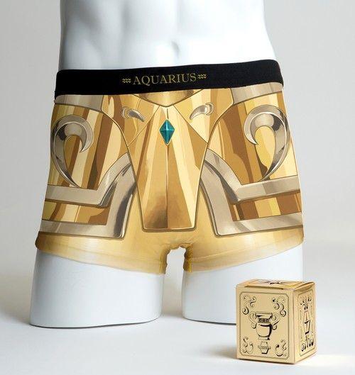 # 聖鬥士星矢推出聖衣內褲:以黃道十二宮黃金聖衣為概念 4