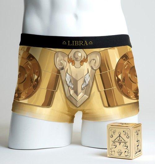 # 聖鬥士星矢推出聖衣內褲:以黃道十二宮黃金聖衣為概念 6
