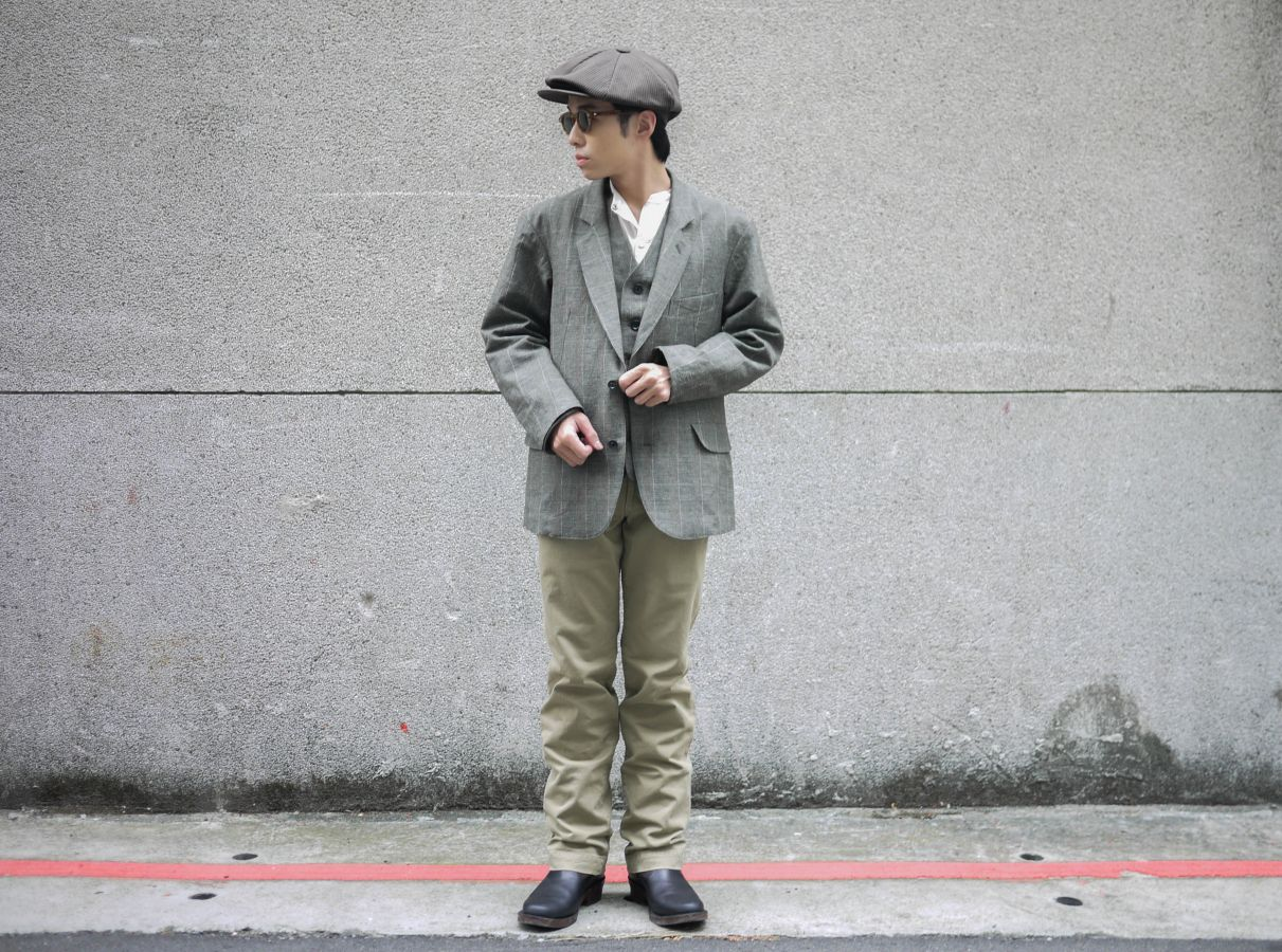 Classic Works:【我的探索之路-Glen Check Old Joe & Co. Artisan Sack Jacket / Artisan Sack Vest / Artisan Sack Vest Herringbone】 1