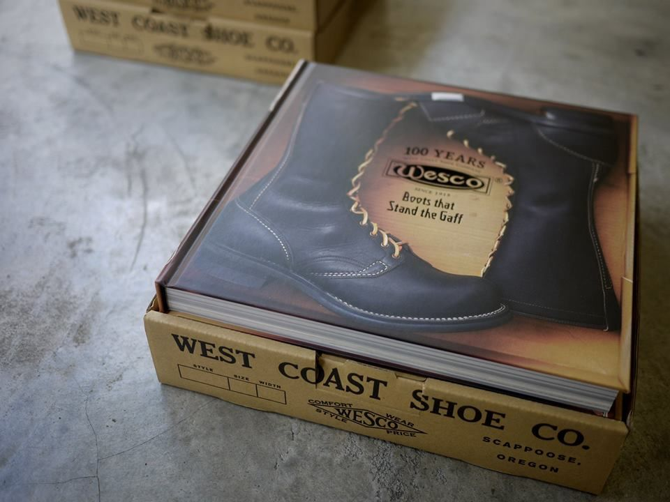 "5.Wesco 100th Anniversary Book ""Boots that Stand the Gaff"""