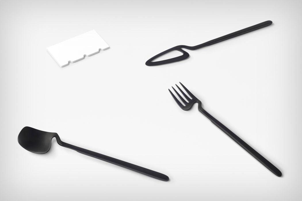 # 極簡骨骼風餐具:「skelton」Nendo for Valerie Objects 6