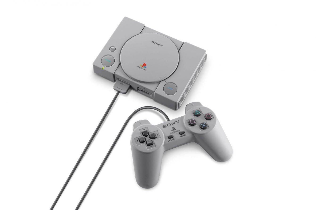 # SONY PS 電玩主機也來懷舊風:PLAYSTATION®CLASSIC 復刻版主機年底登台上市 2