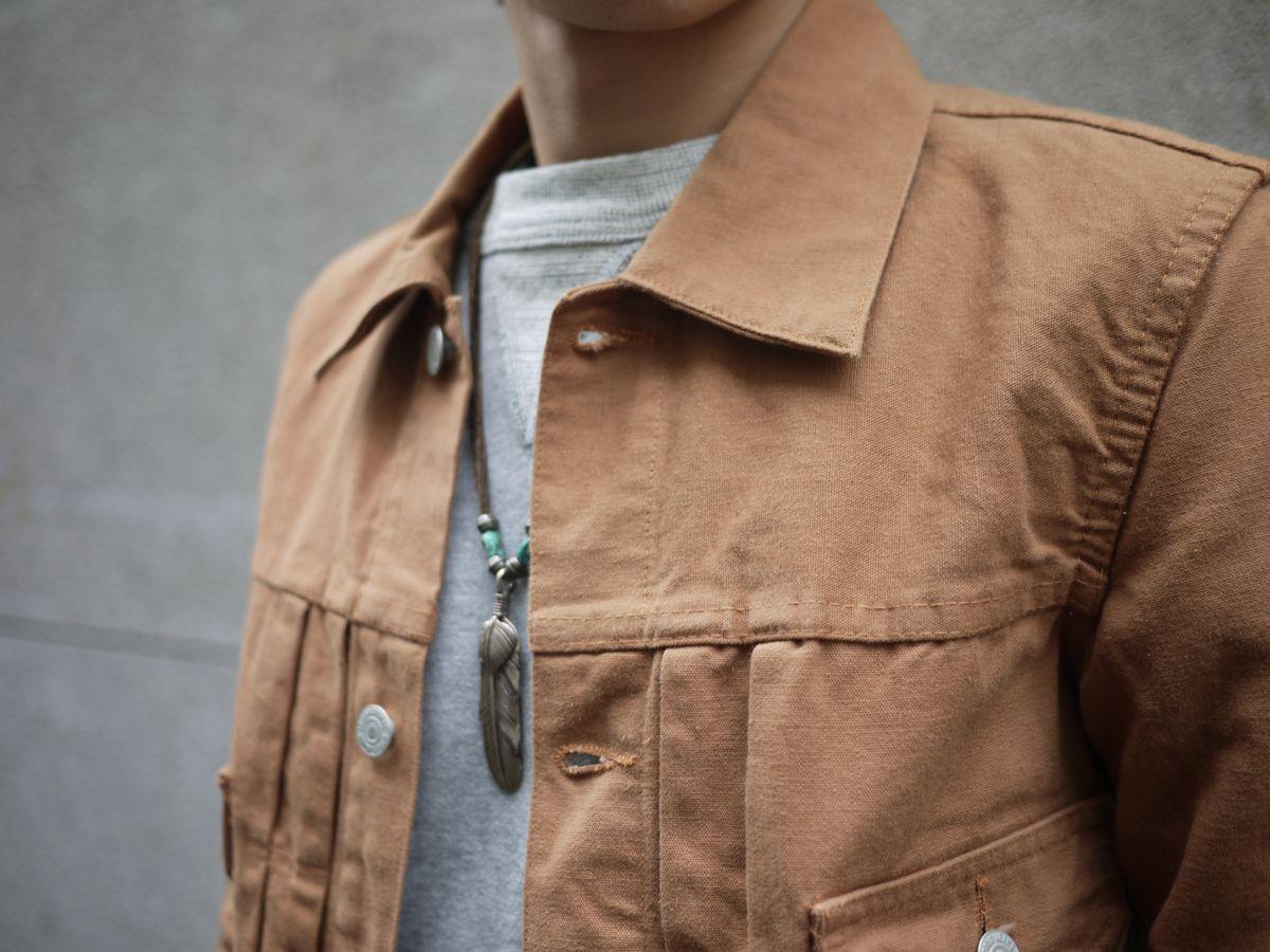Classic Works:【我的探索之路-TCB 50's Jacket Brown Duck】 6