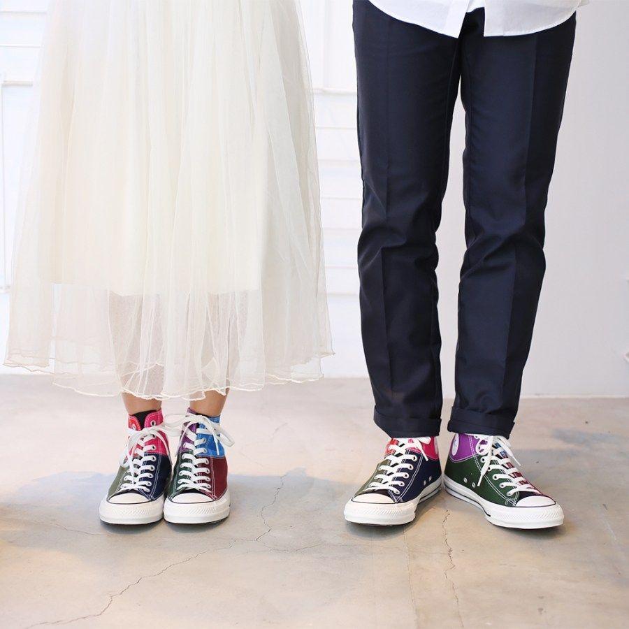 # In Your Shoes 017:單一太無聊,異樣才夠看!盤點近期火紅的「拼接」鞋款 10