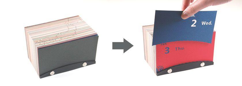 # 要價四萬八日幣的日曆:撕完整年份變為日本風情紙雕作品 3