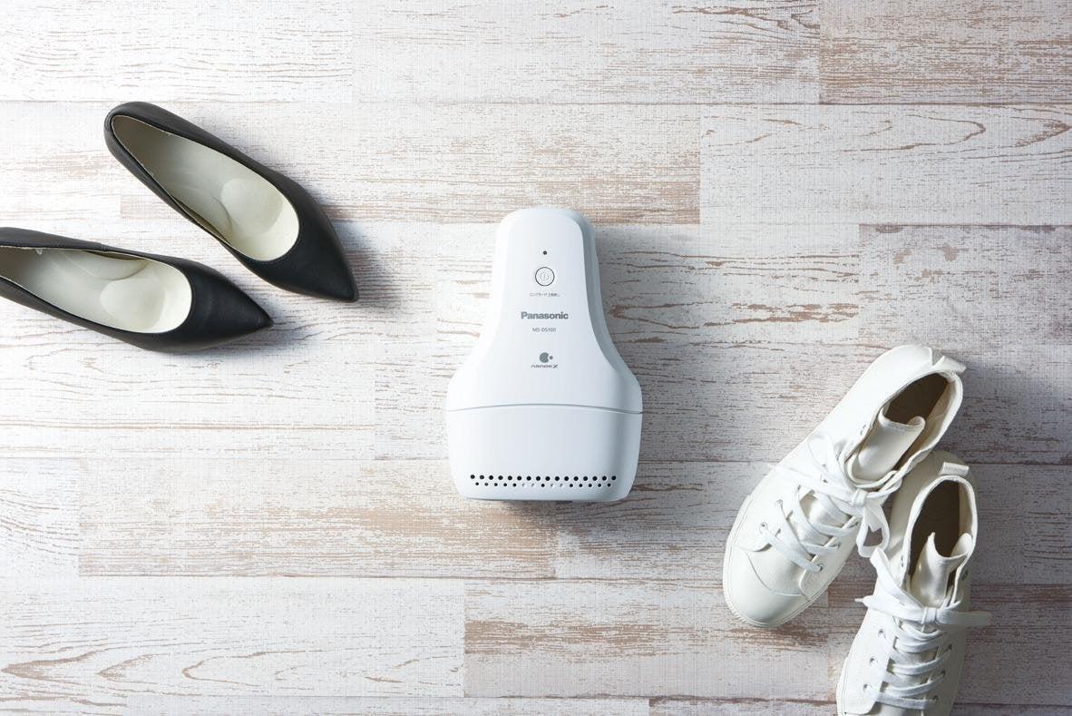 # 鞋內異味免煩惱:Panasonic「鞋子除臭機」為終日奔波的你省去麻煩! 1