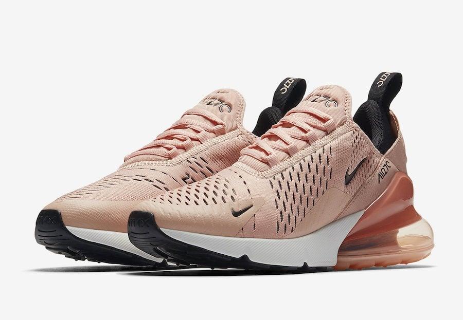 """3.Nike Air 270 """"Coral"""""""