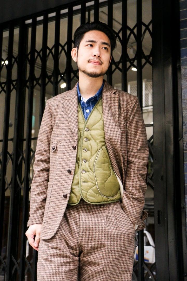 # Shop Staff Snap:三件式西裝的優雅 8