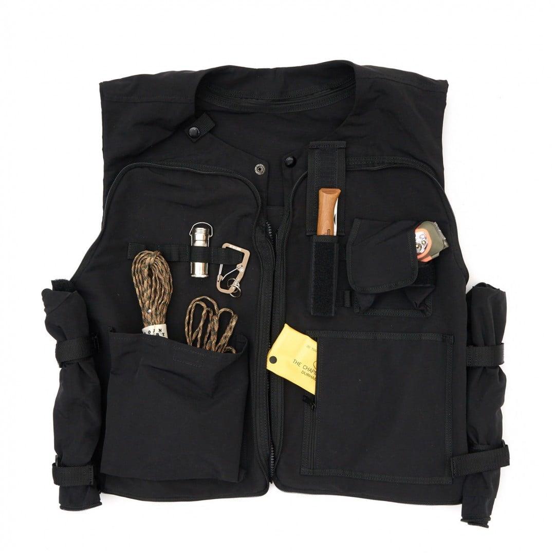 # 是背心也是包袋:日本品牌 AS2OV 推出 CAMP VEST 打造機能質感背心 15