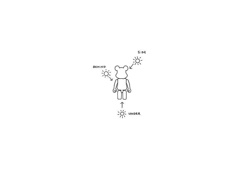 # 「!」時刻:首間 Nendo house 將於東京展開,同時出售「BE@RBRICK shadow 」公仔 17