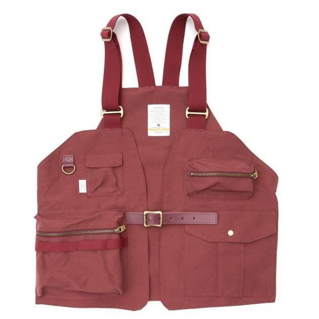 # 是背心也是包袋:日本品牌 AS2OV 推出 CAMP VEST 打造機能質感背心 12