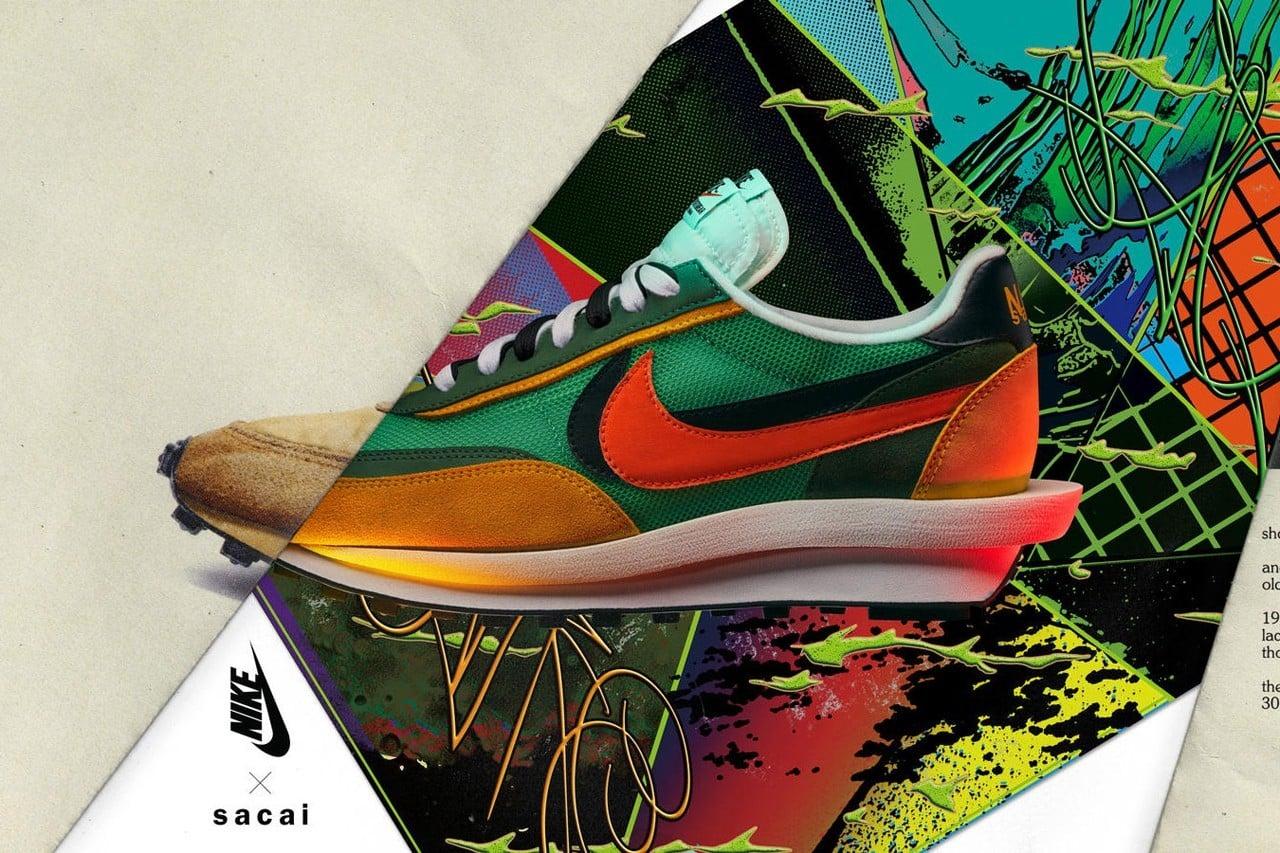 # 層疊的魅力:sacai x Nike 販售資訊正式公佈 5