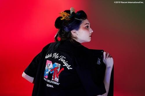 # 當現代娛樂遇上浮世繪:服飾品牌 X-girl 攜手 MTV 展開聯名系列 1