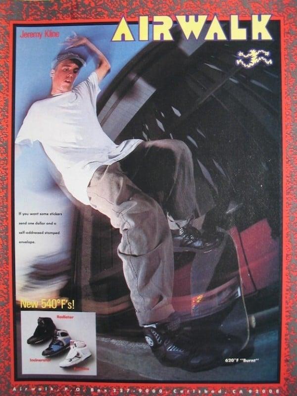 # 再來,是滑板的時代:除了 Vans、DC,老屁股大愛的 AIRWALK 其實也很時尚! 3