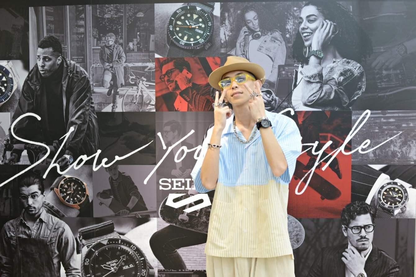 # 步調再快,也要給自己留有保存風格的機會:關於 SEIKO 5 Sports 的次世代展示 15