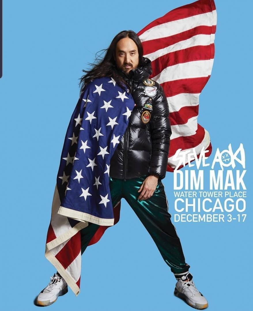 # Steve Aoki:準備在美國販售自家品牌聯名系列!? 14
