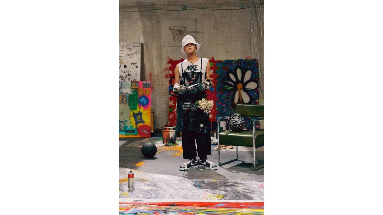 "# G-Dragon 退伍後的首波合作:NIKE × PEACEMINUSONE Air Force 1 ""Para-noise""! 4"