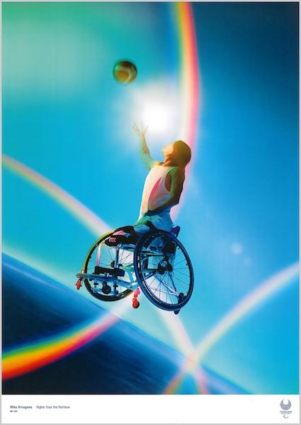 # 飛跑於雲浪中的 JoJo:東京 2020 奧運海報翻玩百年浮世繪! 30