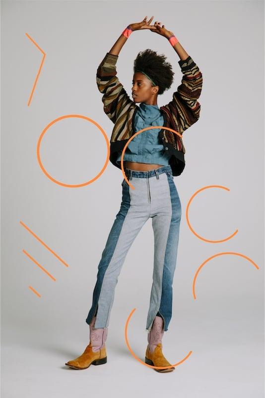 # 女性專屬的古著重製:77circa 帶給你的不只是拼接 T 恤 5