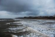 Blackpool Storm Sea