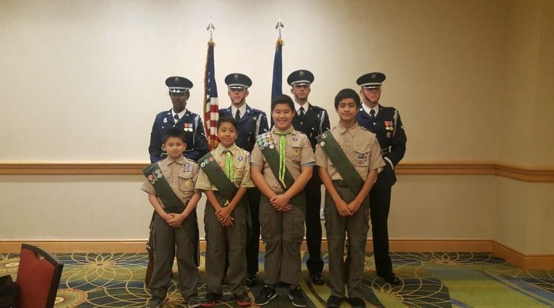 Troop Helping USPAACC Gala