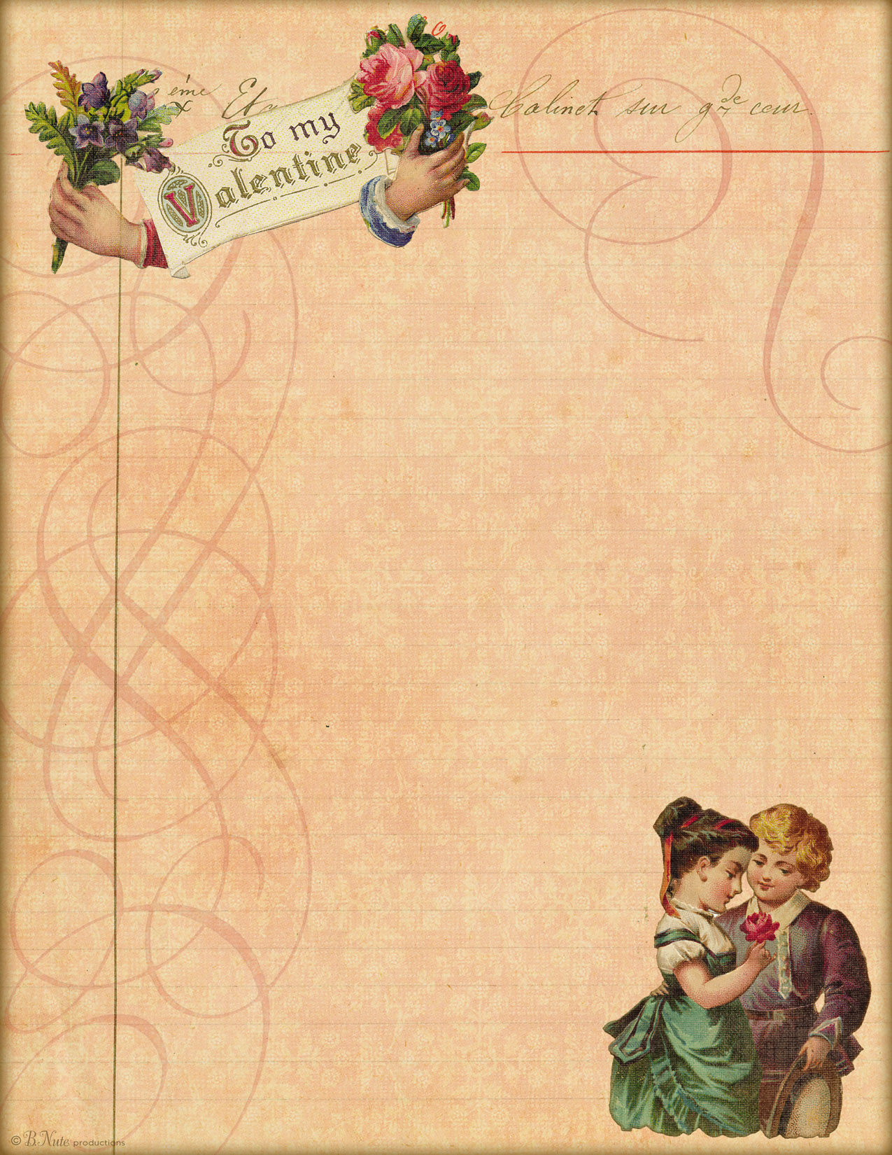 Love Letter Paper
