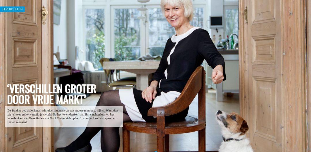 FNV, Eerlijk Delen, Interview, Marli Huijer, Content, LDRT, Journalistiek