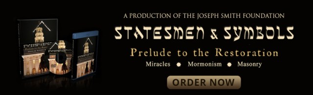 "Want to learn more about Joseph Smith's involvement with freemasonry? Watch ""Statesmen & Symbols: Prelude to the Restoration"" today!"