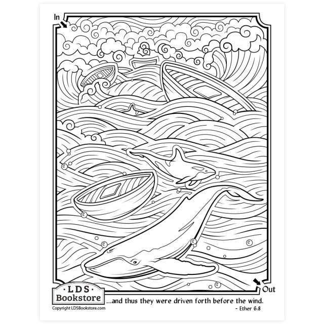 Driven Towards the Promised Land Coloring Page - Printable