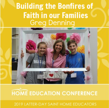 Closing Keynote with Adults: Building the Bonfires of Faith in our Families