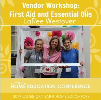 Vendor Workshop: Essential Oils and First Aid by Dr. Mom