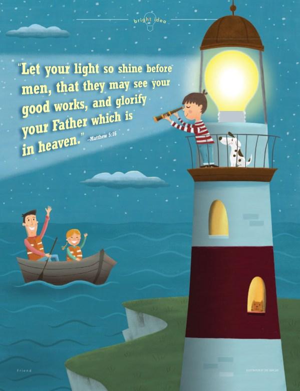 Let Your Light Shine | LDS Lesson Ideas