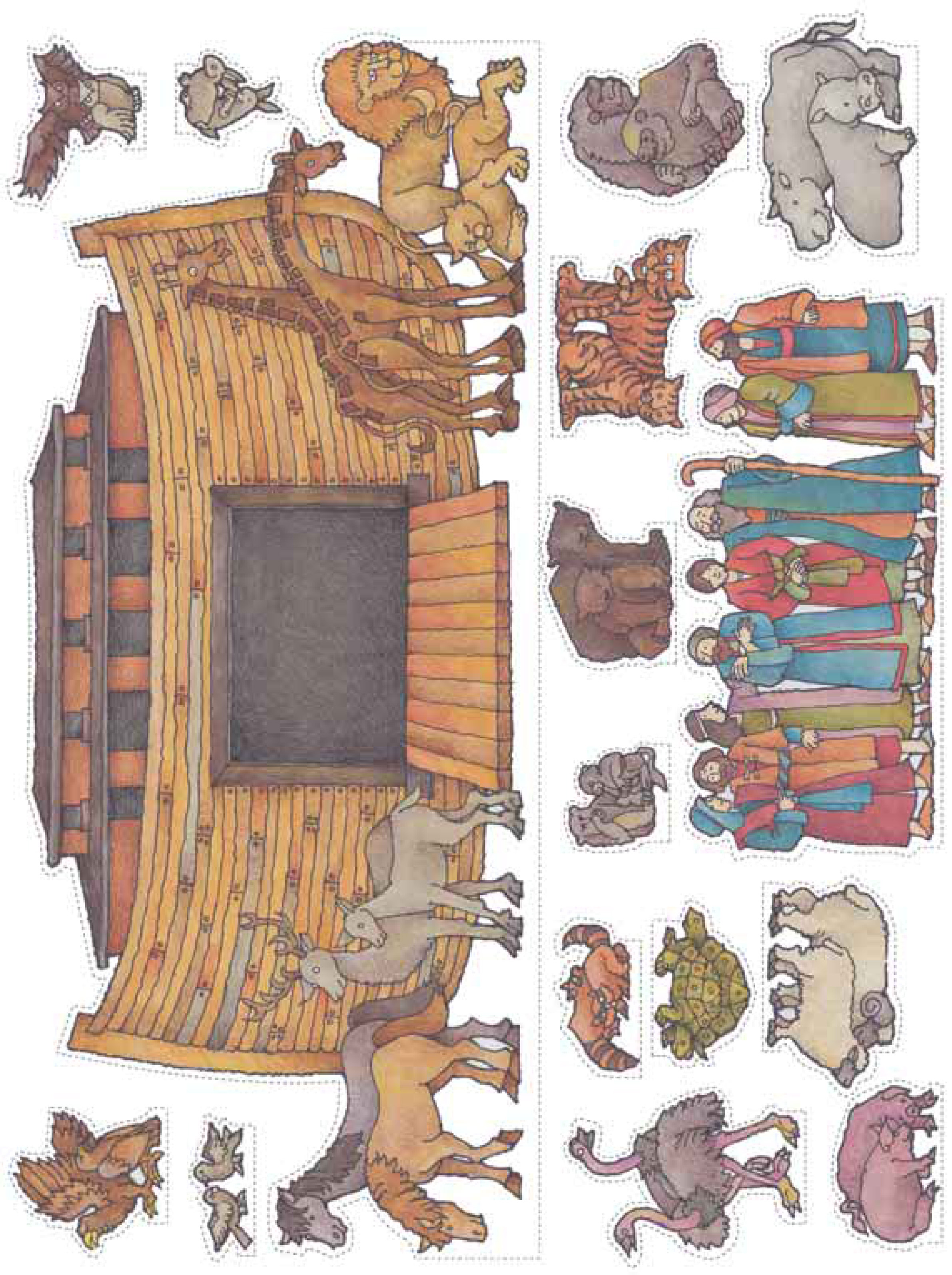 Noah S Ark Cut Outs