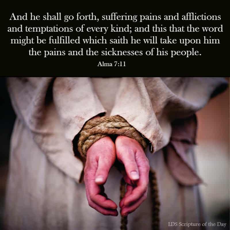 Alma 7:11