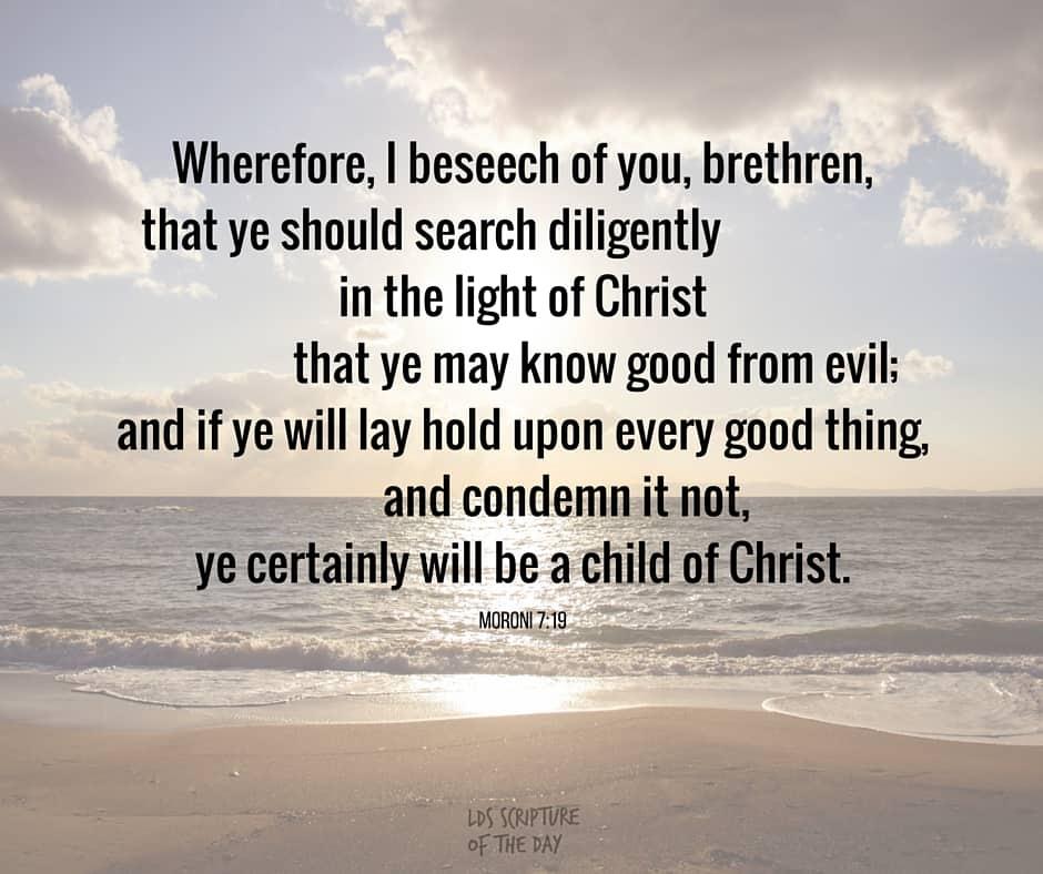 Moroni 7:19