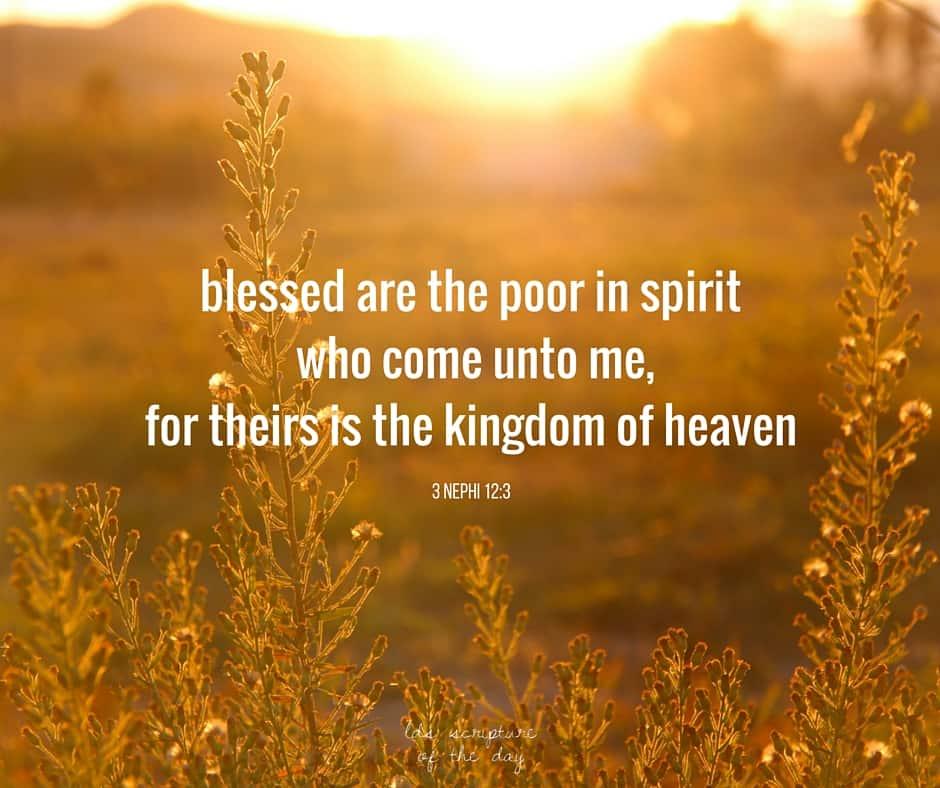 3 Nephi 12:3