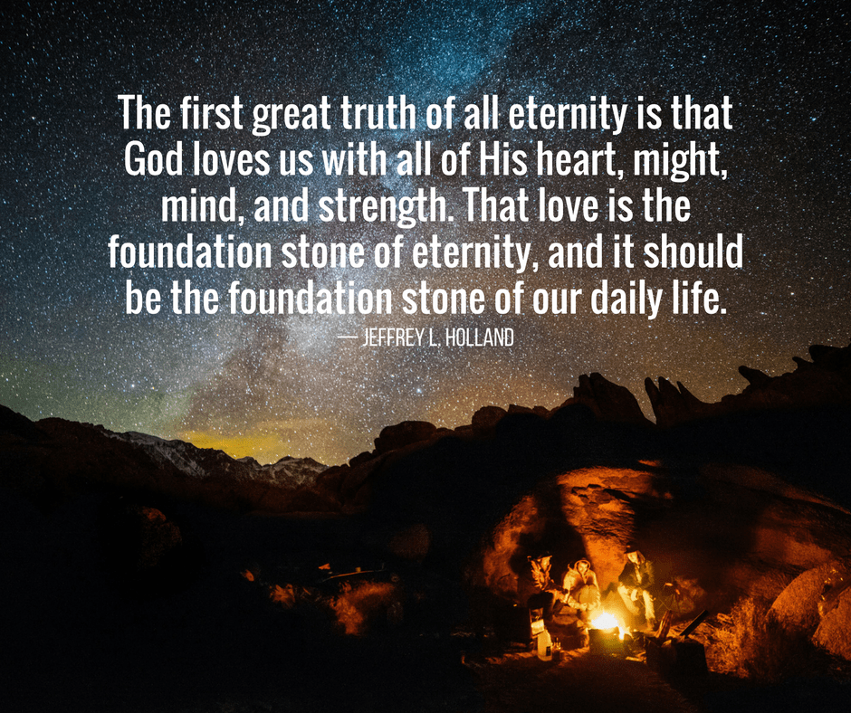 The first great truth of all eternity