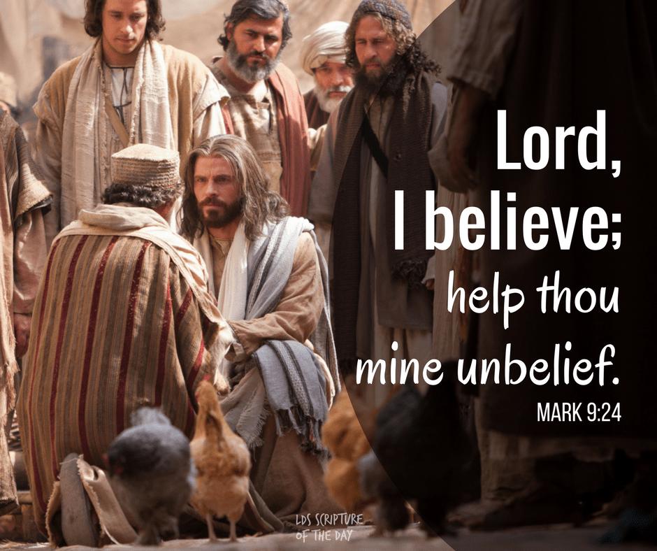 Mark 9:23-24