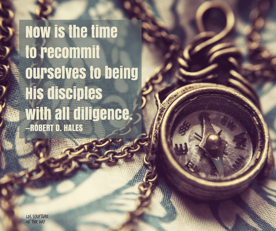Now is the time to recommit ourselves