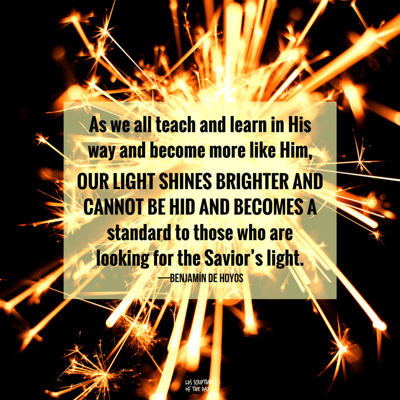 Our light shines brighter and cannot be hid